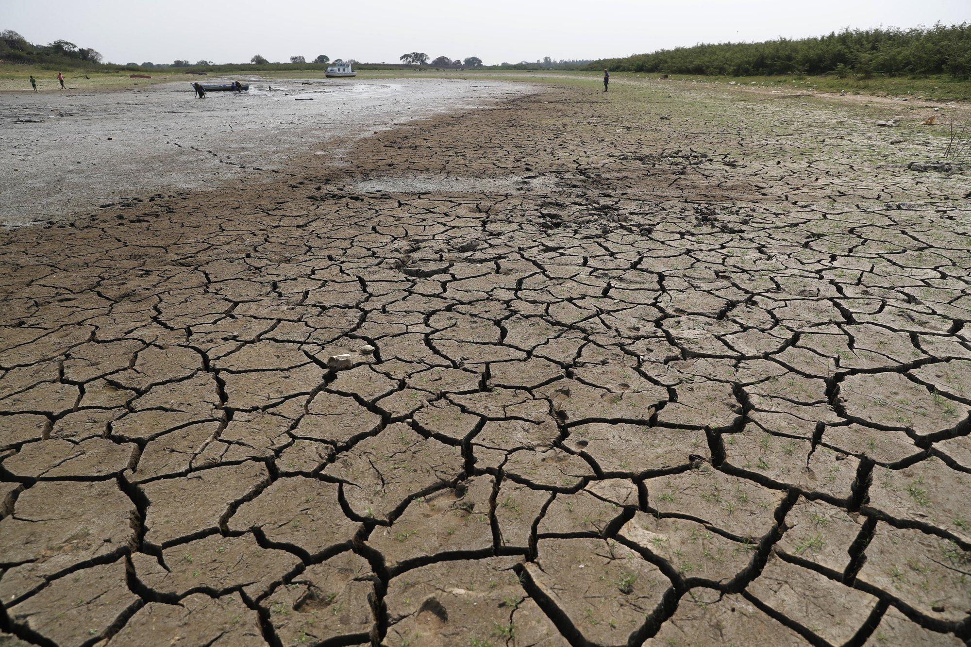 Sequía extrema esta llevando al río Paraguay a su nivel más bajo en 50 años  - Alerta Geo