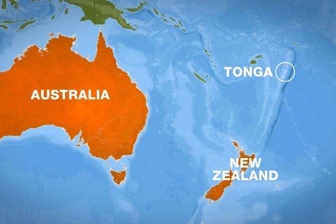 Un terremoto de magnitud 6.4 golpea a Tonga en el Océano Pacífico, dice el  USGS - Alerta Geo