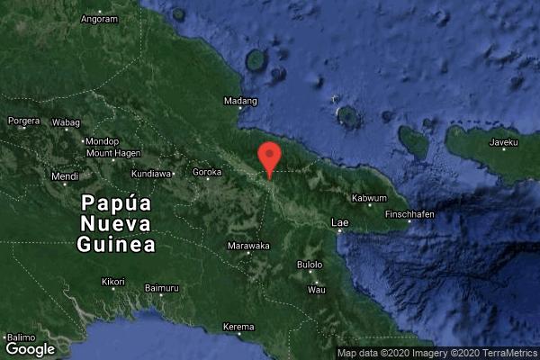 Un terremoto magnitud 6.3 golpea Papúa Nueva Guinea - Alerta Geo