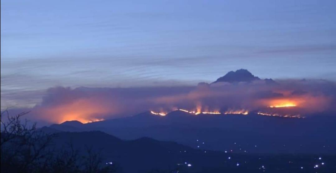 Un gran incendio consume El Monte Kilimanjaro, patrimonio de la humanidad  de la Unesco - Videos - Alerta Geo