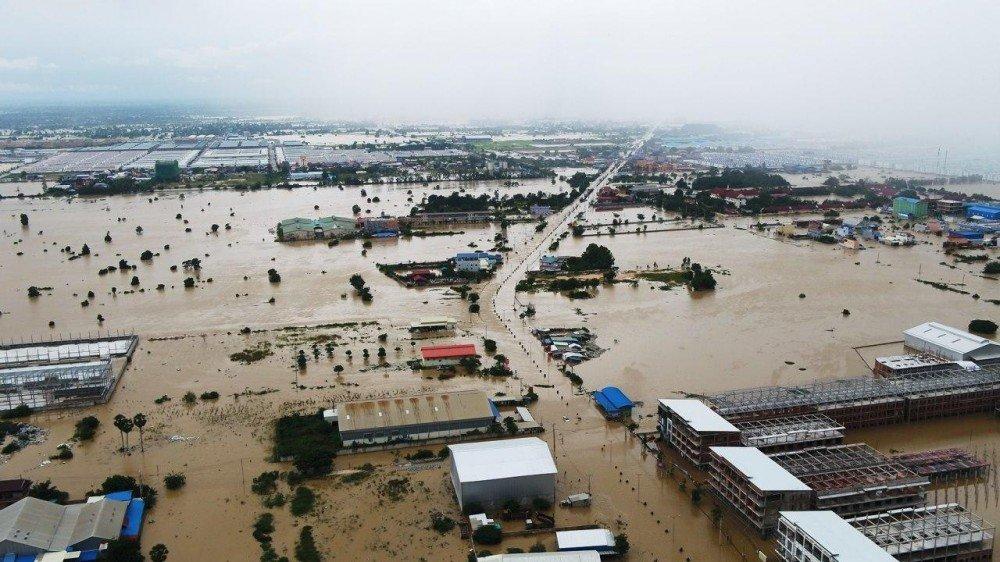 El número de víctimas mortales de las inundaciones en Camboya asciende a 25  mientras más de 37.000 personas son evacuadas: portavoz - Alerta Geo