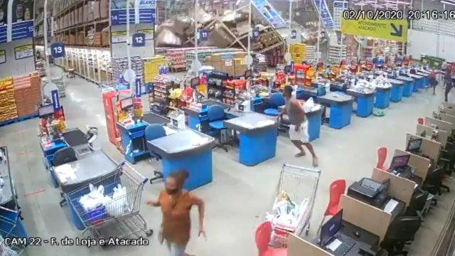 Las estanterías se derrumban en un supermercado brasileño, dejando 1 muerto  y 8 heridos (VIDEOS) - Alerta Geo
