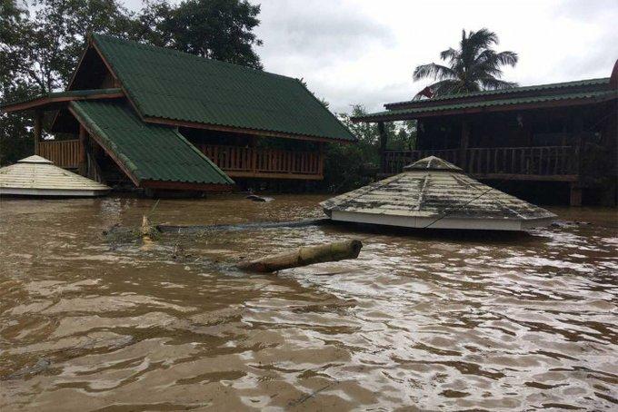 Al menos 1 muerto, 3 heridos por las inundaciones repentinas de la tormenta  tropical Nangka en Tailandia. - Alerta Geo